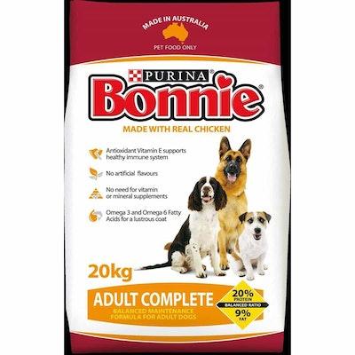Bonnie Adult Complete Dry Dog Food- 20kg