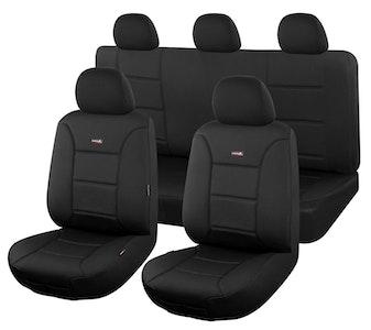 Sharkskin Ultimate Neoprene Seat Covers For Mitsubishi Outlander Zj-Zk-Zl Series 2012-2020 4X4 Suv/Wagon