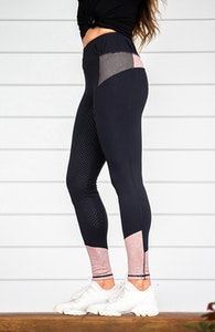 Bare Equestrian Performance Tights-Taupe