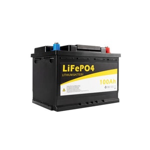 12V 100Ah Rechargeable Lithium Battery Sealed Deep Cycle Marine 4Wd