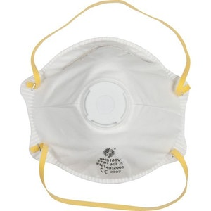 Airpro Dust Mask Valved SH9100V - Box of 10