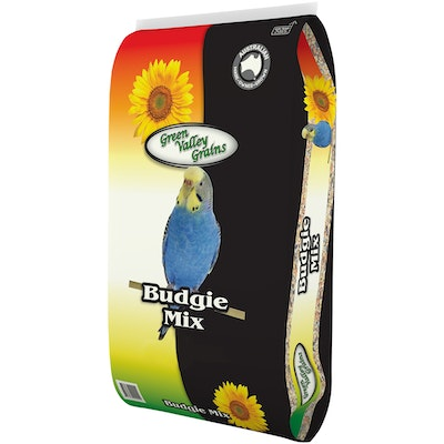 Green Valley Budgie Nutritious Seed Mix Food - 3 Sizes