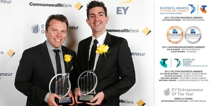 BikeExchange Awards Ernst   Young Telstra. Credit Lucas Dawson. Award Details