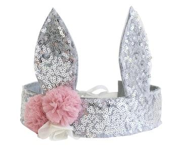 Alimrose Sequin Bunny Crown