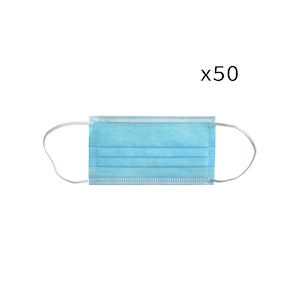 WH Safe Disposable Medical Face Mask - TGA Registered - Pack of 50
