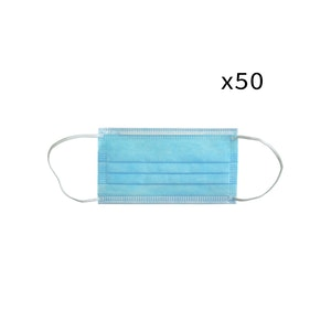 WH Safe Disposable Medical Face Mask - TGA Registered - Pack of 50