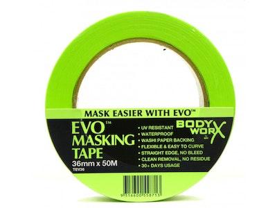 BodyWorx EVO Green Masking Tape 18mm