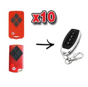 Remote Pro B&D TriTran Compatible Remote x 10