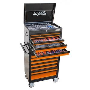 SP50105OR Tool Kit 307 Piece Metric/SAE Custom Series BLACK/ORANGE SP50105OR