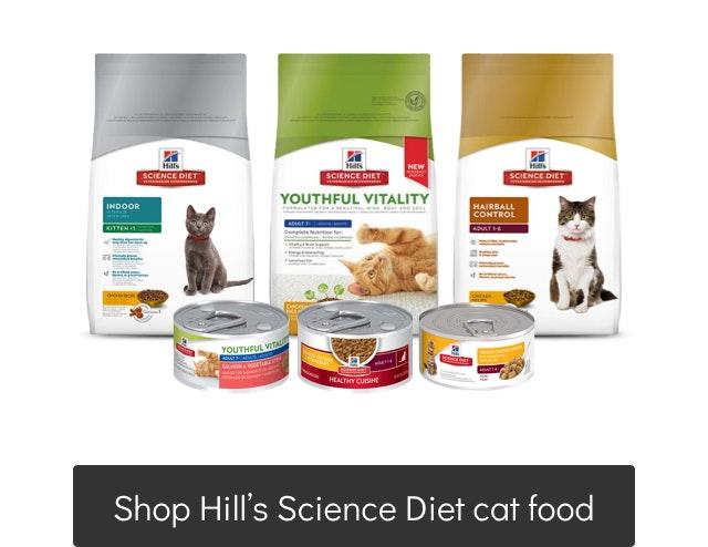 Hill's Science Diet Cat food range