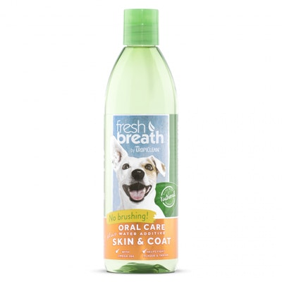 Tropiclean Fresh Breath Water+ Plus Skin & Coat