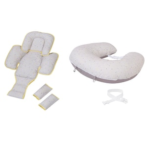 ClevaMama ClevaCushion Nursing Pillow & Baby Nest