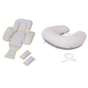ClevaMama ClevaCushion Nursing Pillow & Baby Nest