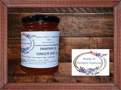 Pawpaw & Ginger Jam 250g