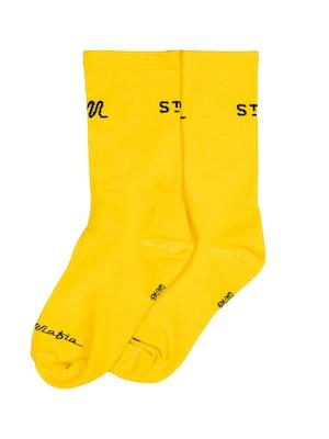 Pedal Mafia PM x StreetX Pro Sock Yellow