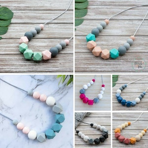 Marli & Me™ WILLOW silicone necklaces | Assorted colours