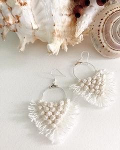 Sculptures of the Earth Macramé earrings - Aria