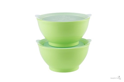 eLIPse Kids - Stage 1 Spill Proof Bowl Set with Lids 8oz (2pc)