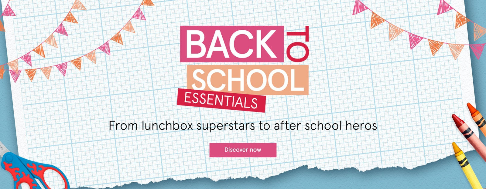 Back to School Essentials on The Myer Market