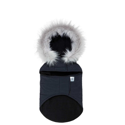 TOUCHDOG Insulated Winter Dog Coat Parka Navy