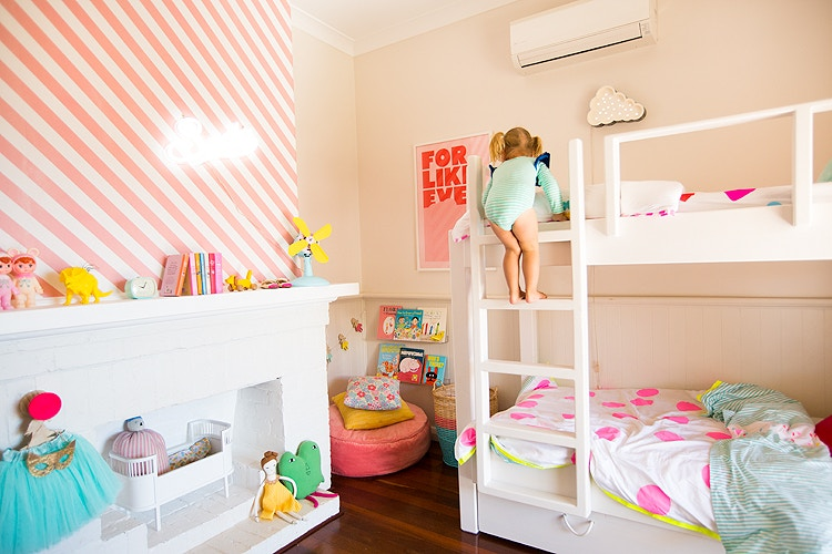Minted Interiors | Girls' Room