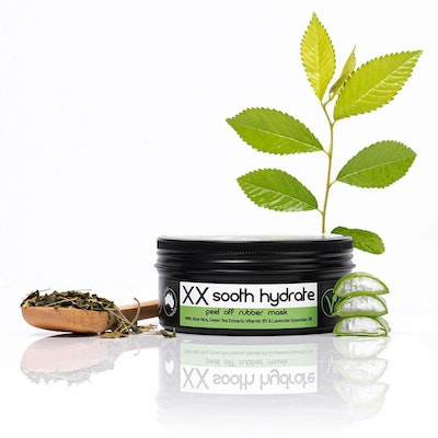 Culte Skincare 2X Sooth and Hydrate Peel-off Aloe Vera Face Mask