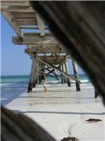 Old jetty at Eucla