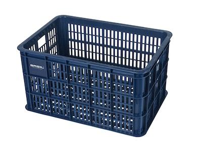 Basil Bicycle Crate Large 50L Bluestone