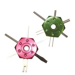 Toledo Wire Terminal Tool Kit - 2 Pc