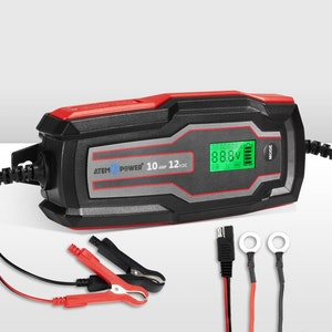 10A 6V/12V Smart Battery Charger Trickle Automatic AGM GEL Car Truck Motorcycle