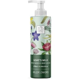 The Australian Cosmetics Company Moisturising Body Cream Wild Flowers 275ml
