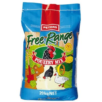 Peters Premium Quality Free Range Poultry Mix 5kg