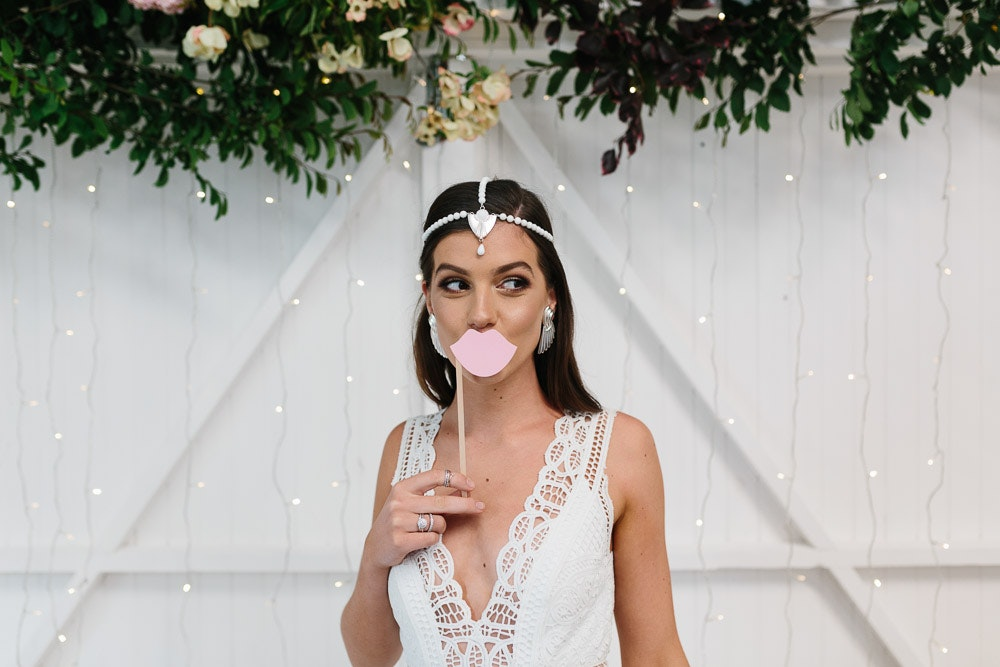 LENZO Photo Booth Props Wedding