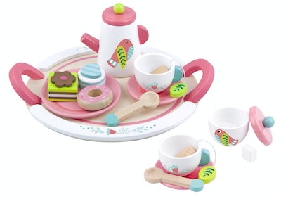 Tooky Toy BIRD AFTERNOON TEA SET