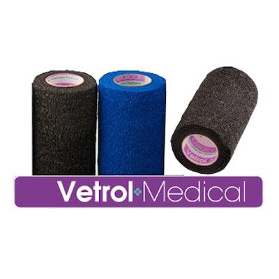 AMACRON VX100 Cohesive bandages - blue