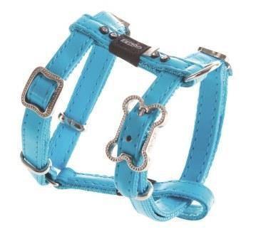 Rogz Luna Harness Blue