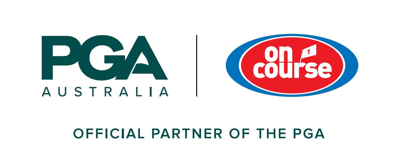 On Course Golf PGA Lockup logo