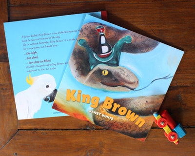 Sunbirds Design Picture Book King Brown