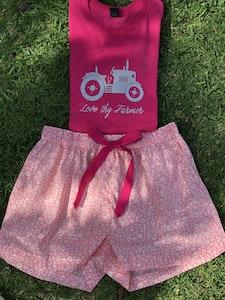 Girls' Liberty Fabric Boxer Short Set