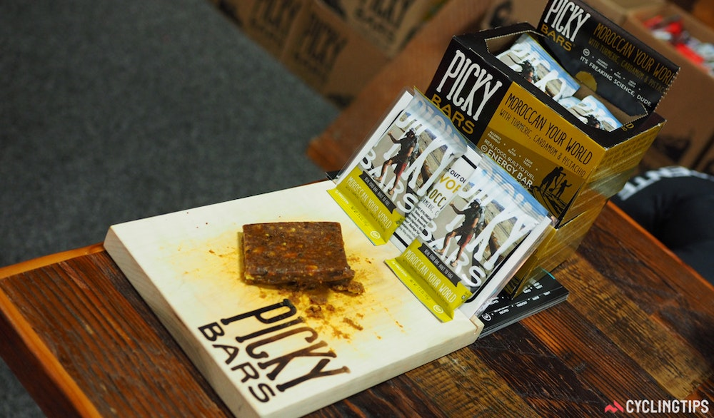 picky bars gluten free dairy free nutrition InterBike 2016 CyclingTips 43066  1