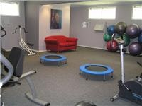 Plenty of equipment Mayfair Gardens gym