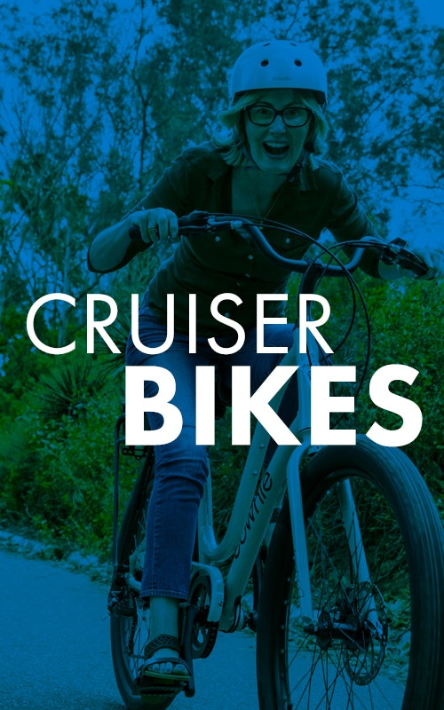 Cruise around the neighborhood in style and comfort with the whole family on Tri Bike Run's Cruiser Bikes.
