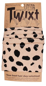 Leopard Animal Print Neutral - Twixt / Wired Head Wrap