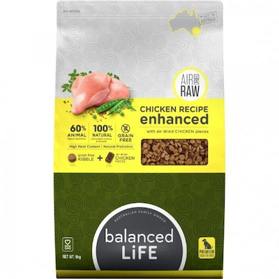 BALANCED LIFE Dry Dog Food with Chicken Pieces