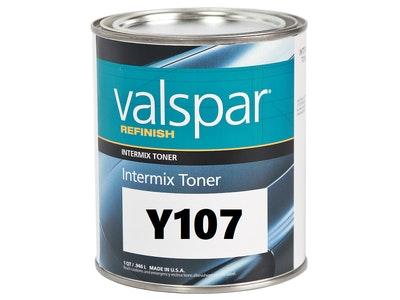 Valspar Refinish Y107 Gold Aluminium 1Qt