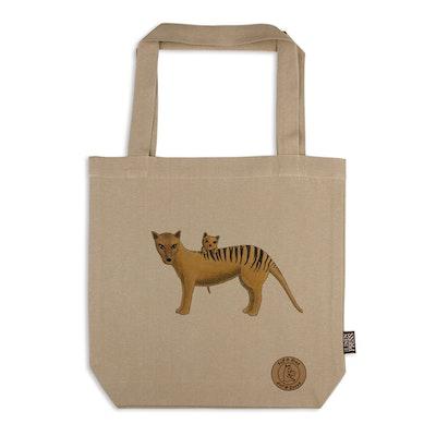 Art'N Green Organic Cotton Tote Bag, Thylacine - LARGE
