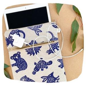 Aussie Animal Padded iPad Cover
