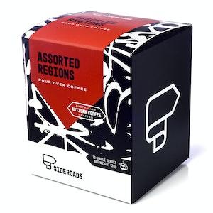 Sideroads Mixed Box of 10 | Drip coffee sachets