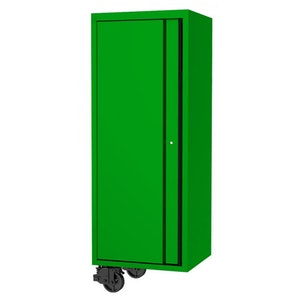 """Side Cabinet 3 Fixed Shelves Clothes Hand Rail 27"""" USA Sumo Series GREEN/BLACK SP44885G"""
