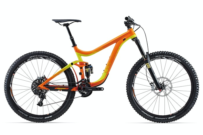 2015 Giant Reign 27.5 1 Orange